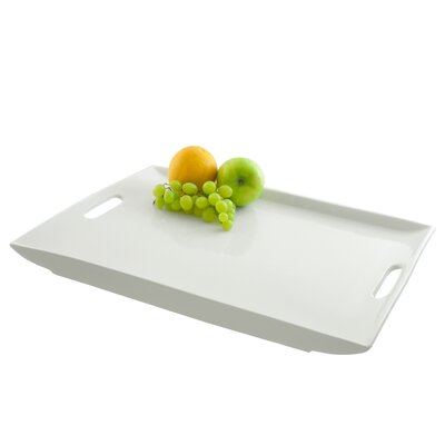 "Ten Strawberry Street 15"" Rectangular Serving Platter with Handles"