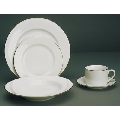 Ten Strawberry Street Gold Line Dinnerware Set
