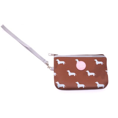 Romy and Jacob Pet-Lover Dachshund Wristlet