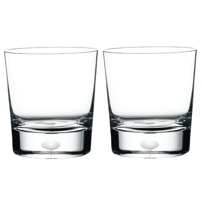 Orrefors Intermezzo Satin Dof Glass (Set of 2)
