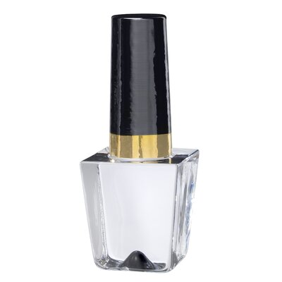 Kosta Boda Make Up Nailpolish Bottle in Black