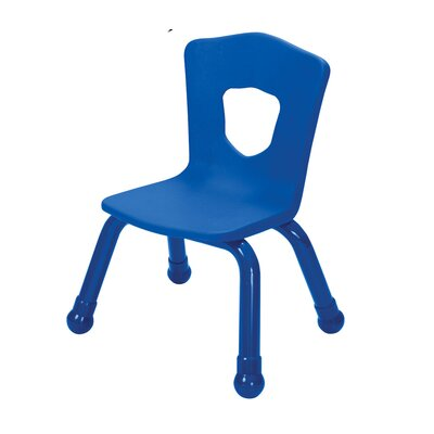 "Brite Kids 13.5"" Plastic Classroom Stacking Chair (4 Pack)"