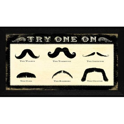 Mustachios Wall Art
