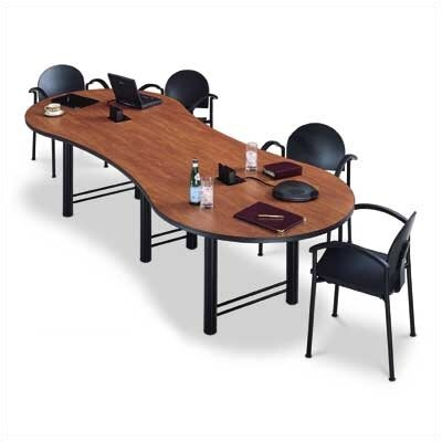 "ABCO 96"" Wide Break Out Top Conference Table with H Base"