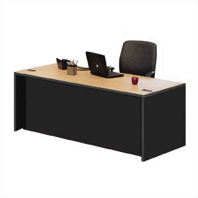 ABCO Unity Double Full Pedestal Executive Desk with 2 Right & 2 Left Drawers