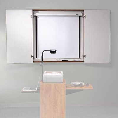 ABCO Conference Cabinet with Optional Projector Screen