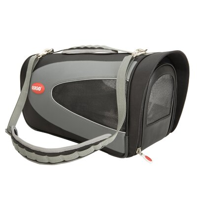 Argo Petascope Pet Carrier in Black