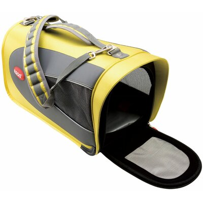 Teafco Argo Petascope Airline Approved Pet Carrier in Sherbet Yellow