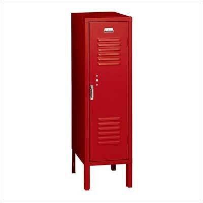 Penco Vanguard Unit Packaged Lockers - Single Tier - 1 Section (Unassembled) - Recessed Handle