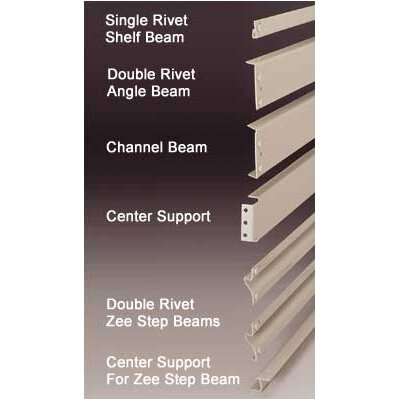 Penco RivetRite Parts - Standard Single Rivet Shelf Beams