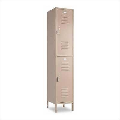 Penco Vanguard Unit Packaged Lockers - Double Tier - 1 Section (Assembled)