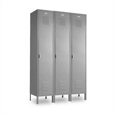 Penco Vanguard Unit Packaged Lockers - Single Tier - 3 Sections (Assembled)