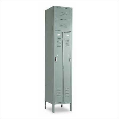 Penco Vanguard Two Person 1 Wide Locker (Assembled)