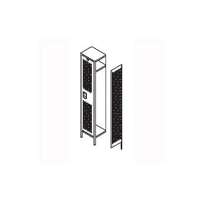 Penco Invincible II Lockers - Triple Tier - 3-Section (Assembled)
