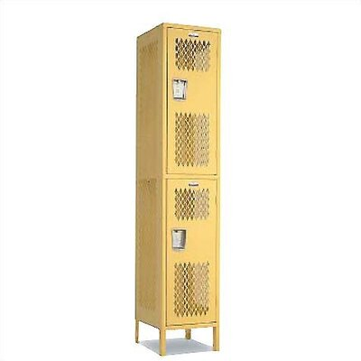 Penco Invincible II Double Tier 1 Wide Locker (Assembled)