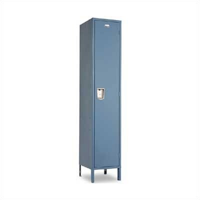Penco Vanguard Lockers - Single Tier - 1 Section (Assembled) - Recessed Handle