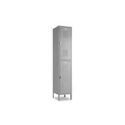 Penco Vanguard Unit Packaged Lockers - Double Tier - (Assembled) - Recessed Handle