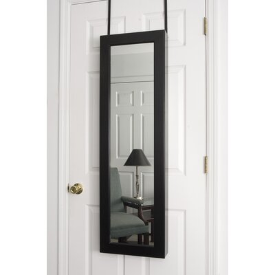 Dalton Home Collection Over the Door Jewlery Armoire in Black