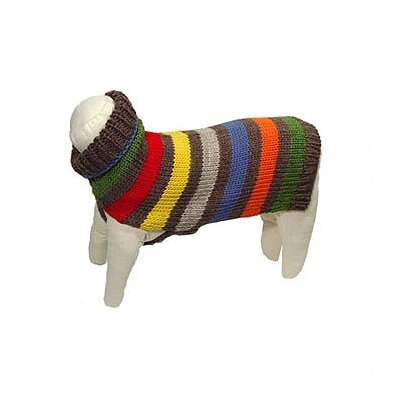 George SF Hand Loomed Fiesta Dog Sweater