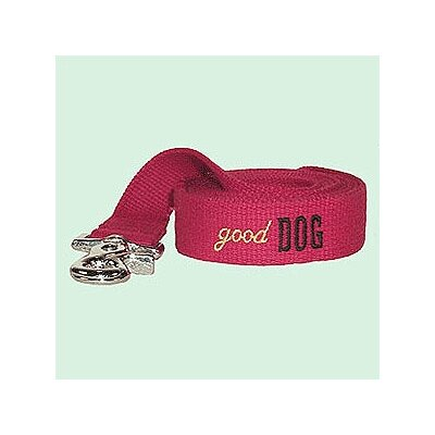 "George SF ""Good Dog"" Cotton Leash"
