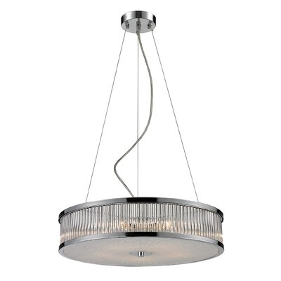 Nulco Lighting Amersham 5 Light Drum Pendant