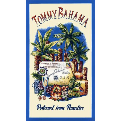 Tommy Bahama Bedding Postcards from Paradise Beach Towel