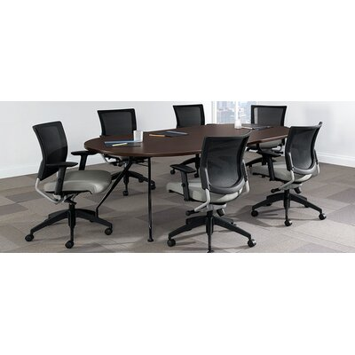 Global Total Office Alba Meeting Racetrack Conference Table