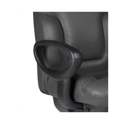 Global Total Office ricHigh-Back Leather Executive Chair with Arms