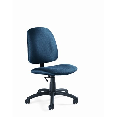 Global Total Office Goal Armless Low-Back Pneumatic Task Chair
