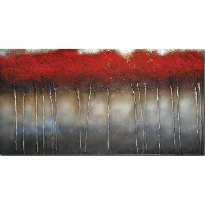 Ren-Wil Crimson Forest by St. Germain, Patrick  - 30&quot; x 60&quot;