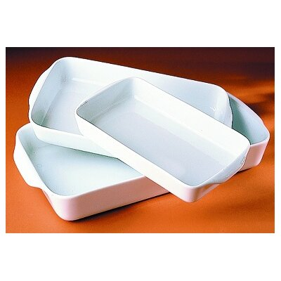 Pillivuyt 120 oz. Large Rectangular Baker