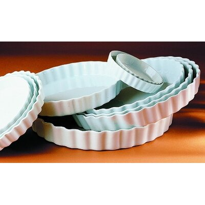 Pillivuyt Belle Cuisine 35.25 oz. Deep Round Baking Dish