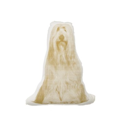 Areaware MINI Bearded Collie Pillow