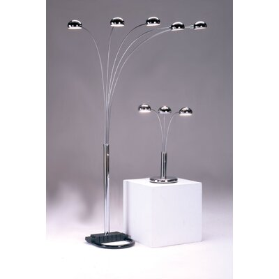 Bernards Spider Floor Lamp