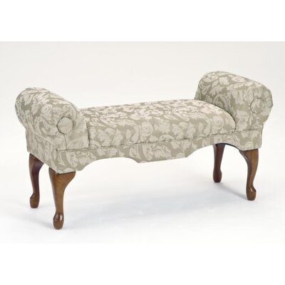 Bernards Traditional Boudoir Upholstered Bench