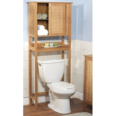 TMS Bamboo Space Saver Cabinet in Natural