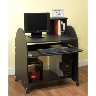 TMS Computer Workstation in Black