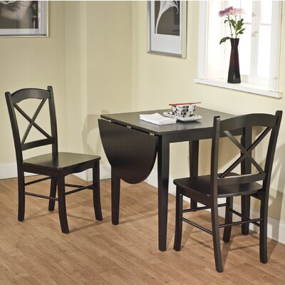 Small kitchen dining set wayfair for Small kitchen table and chairs for sale