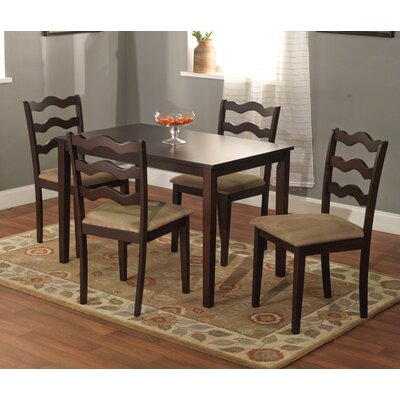 TMS Riviera 5 Piece Dining Set