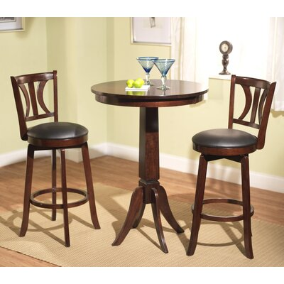 Houston 3 Piece Pub Table Set