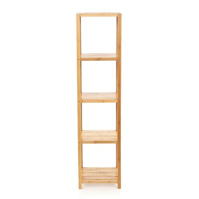 TMS Bamboo 5 Tier Vertical Shelf