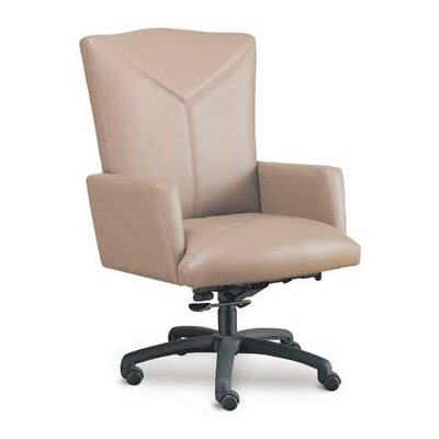 High Point Furniture High-Back Executive Chair with Spider Swivel Base