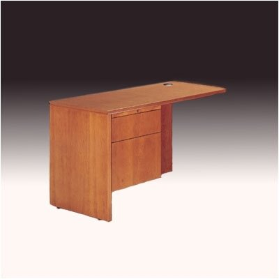 "High Point Furniture Forte 29"" H x 48"" W 3/4 Pedestal Desk Return"