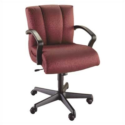 High Point Furniture Mid-Back Executive Chair with Arms