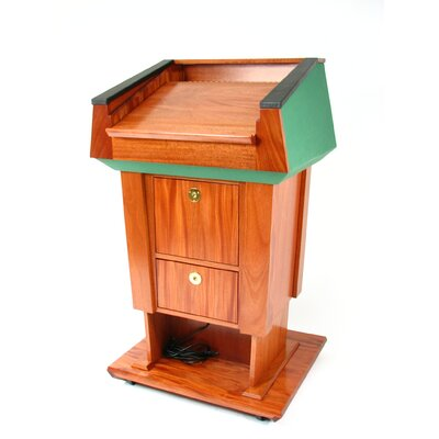 Executive Wood Products Presidential Evolution Lift Podium