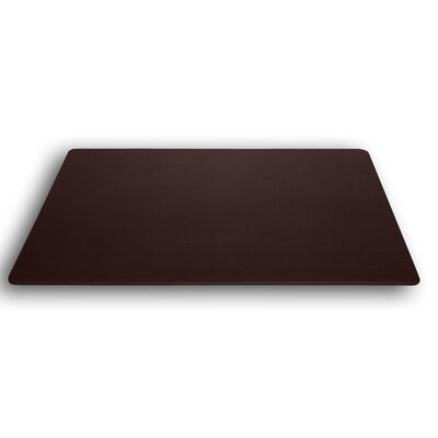 Dacasso 1000 Series Classic Leather 34 x 20 Desk Mat without Rails in Chocolate Brown