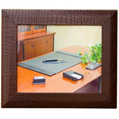 Dacasso 2000 Series Crocodile Embossed Leather Picture Frame