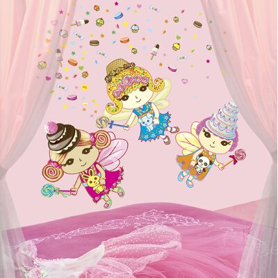WallCandy Arts Sweet Dreams Fairies Wall Decals