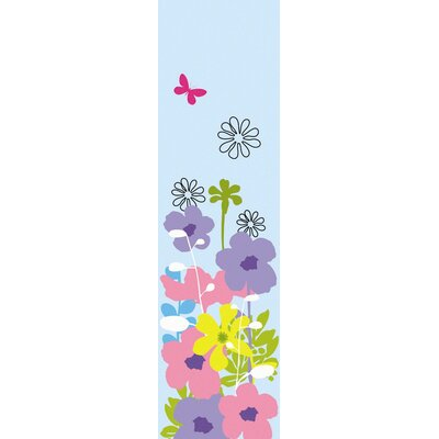 WallCandy Arts Happy Flowers Wall Decal