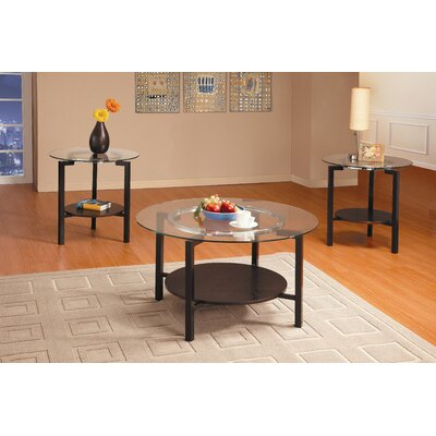 Barron 3 Piece Coffee Table Set